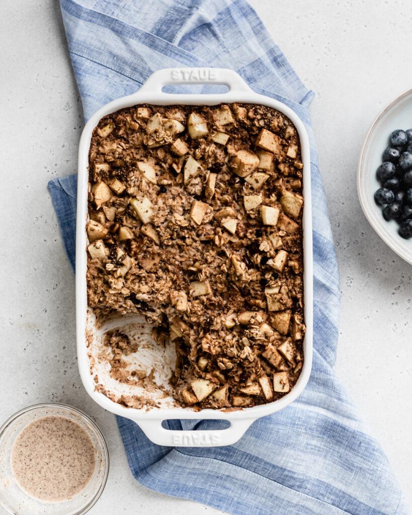 easy oatmeal breakfast casserole