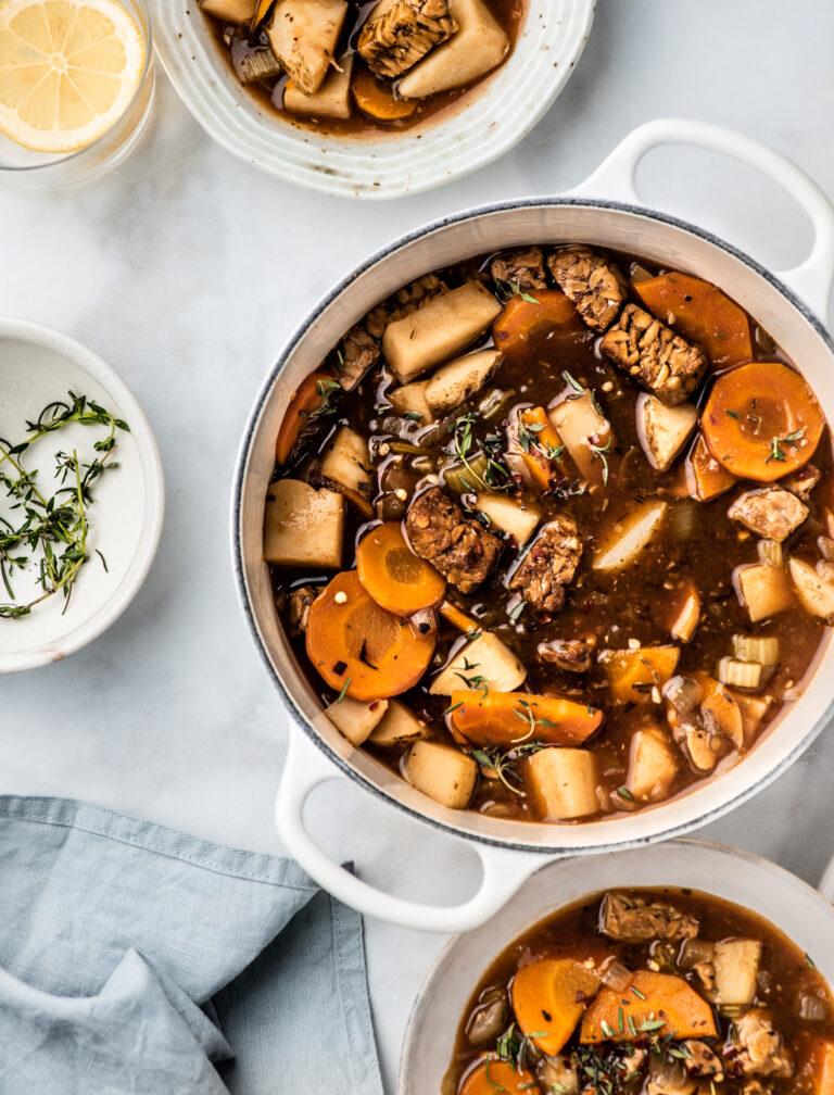 Tempeh Stew - Le Creuset