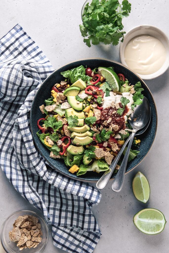 healthy-vegan-taco-salad