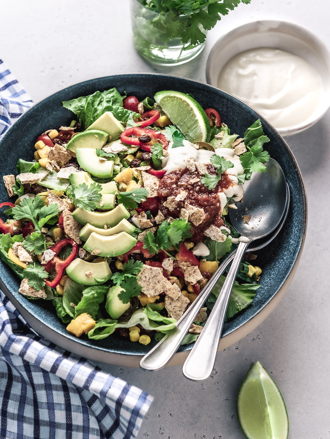 healthy-vegan-taco-salad